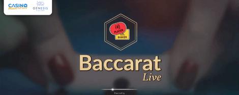 Beat the Dealer Weekend - Live Baccarat