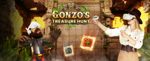 Gonzos Treasure Hunt Live VR